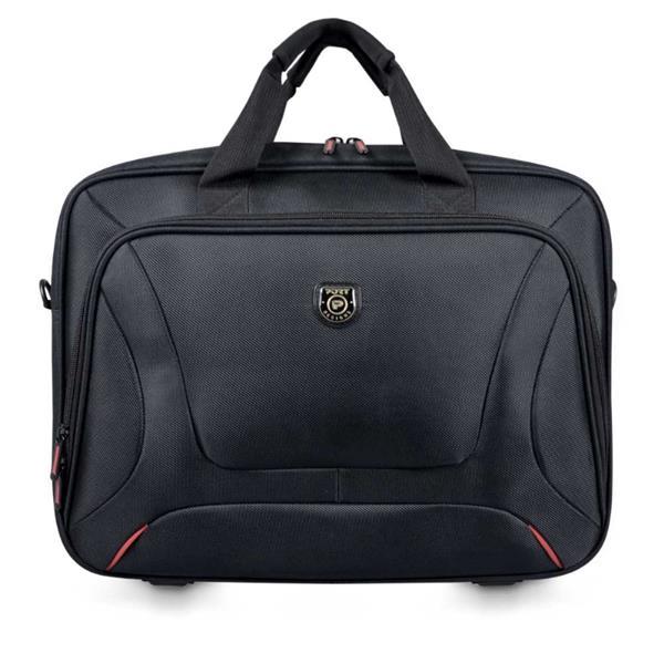 PORT DESIGNS COURCHEVEL Toploading BF taška na 14/15,6' notebook a 10,1' tablet, čierna