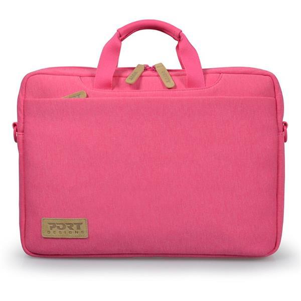 PORT DESIGNS TORINO Toploading taška na 13,3' notebook, ružová