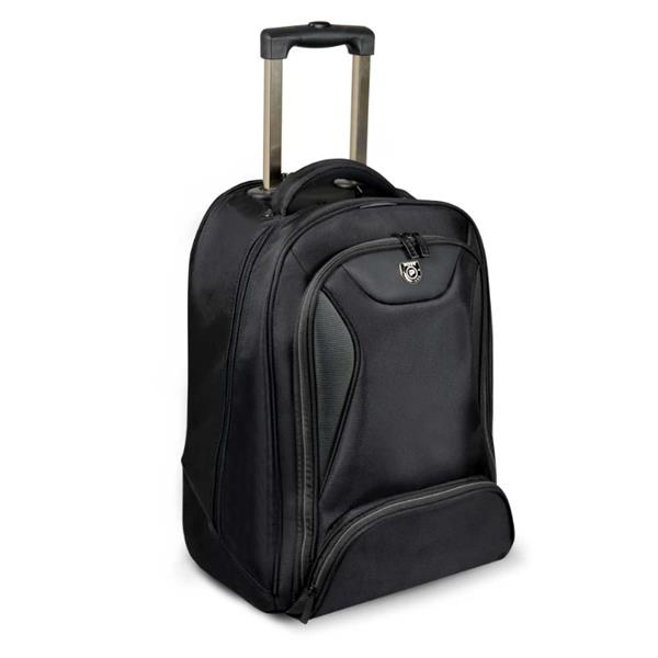PORT DESIGNS MANHATTAN batoh na kolieskach na 15,6' notebook a 10,1' tablet, čierny