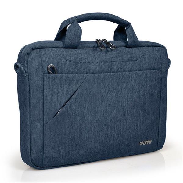PORT DESIGNS SYDNEY Toploading taška na 13/14' notebook a 10,1' tablet, modrá