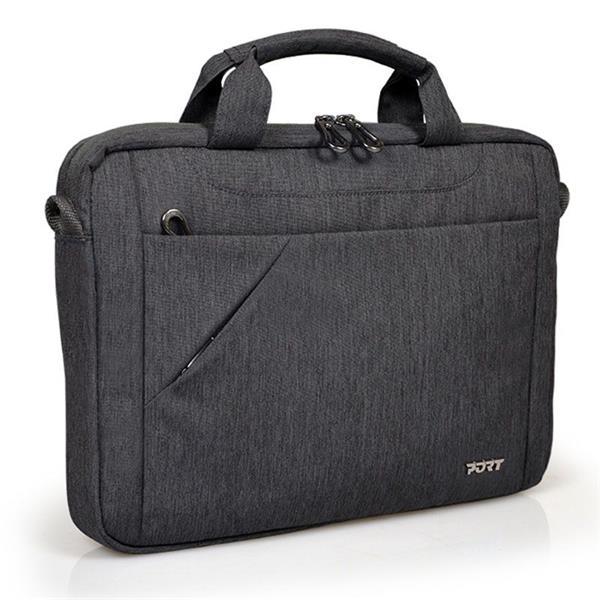 PORT DESIGNS SYDNEY Toploading taška na 13/14' notebook a 10,1' tablet, šedá