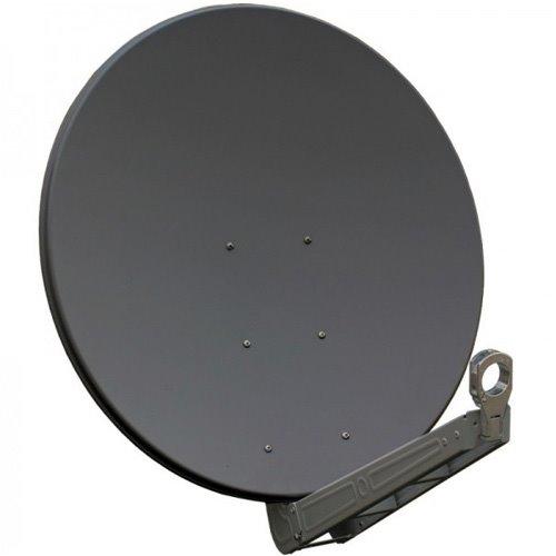 GIBERTINI satelitní parabola prům. 85cm AL gray