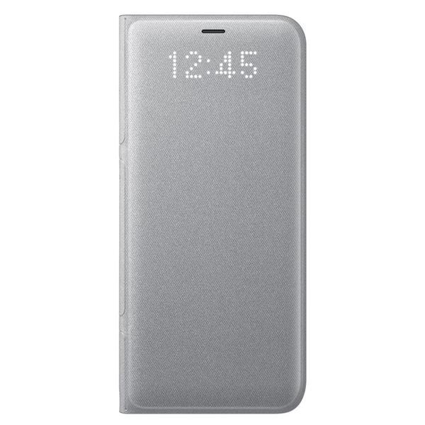 Samsung LED View puzdro pre Samsung S8+, Strieborné