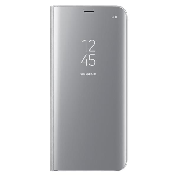 Samsung Clear View púzdro pre S8+, Silver