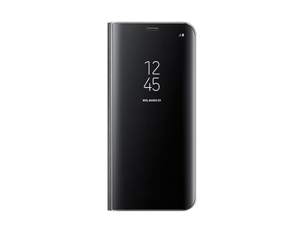 Samsung Clear View púzdro pre S8+, Čierne