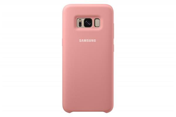 Samsung Zadný silikónový kryt pre Samsung S8, Ružový