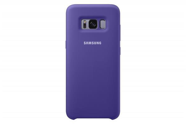 Samsung Zadný silikónový kryt pre Samsung S8+, Violet