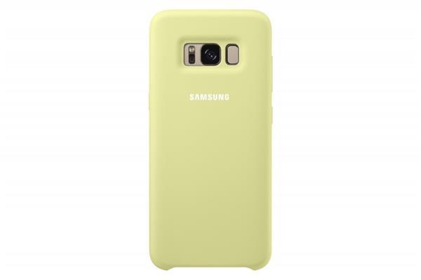 Samsung Zadný silikónový kryt pre Samsung S8+, Zelený