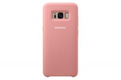Samsung Zadný silikónový kryt pre Samsung S8+, Ružový