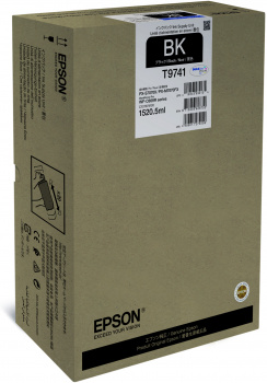 Epson atrament WF-C869R series black XXL - 86k str.