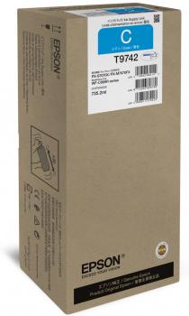 Epson atrament WF-C869R series cyan XXL - 84k str.