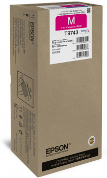 Epson atrament WF-C869R series magenta XXL - 84k str.