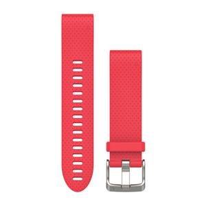 Silikonový remienok QuickFit™ 20 na zápästie fénix 5S - ružový (ND)