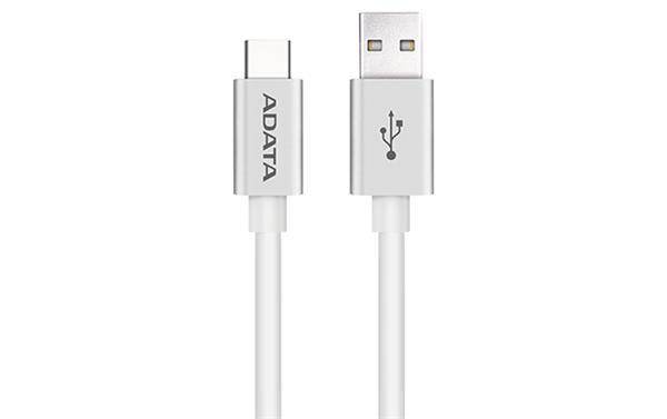 A-DATA kábel USB-C na USB-A 2.0, biela