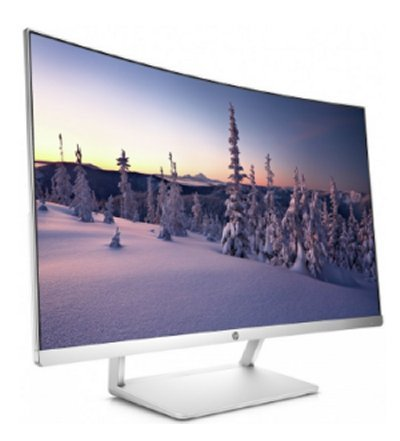 HP 27 Curved Display, 27.0 VA, 1920x1080, 3000:1, 5ms, 300cd, DP/HDMI, 2y
