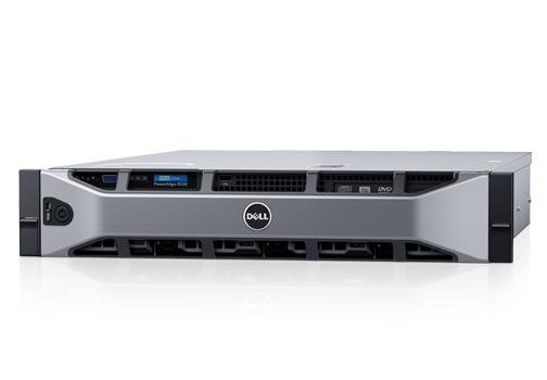 PE R530/Chassis 8 x 3.5 HotPlug/Xeon E5-2620 v4/16GB/120GB SSD/Rails/Bezel/No optical drive/On-Board LOM QP/PERC H730/iD