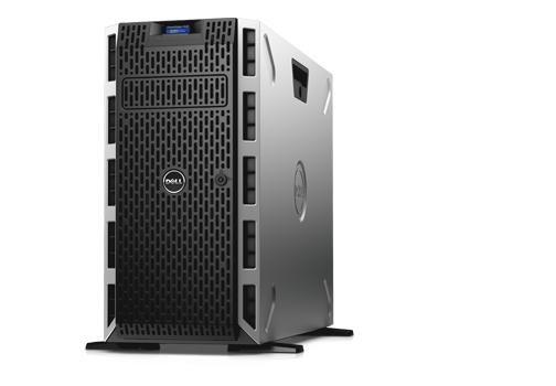 PE T430/Chassis 8 x 3.5 HotPlug/Xeon E5-2609 v4/16GB/120GB SSD/Bezel/DVD RW/On-Board LOM QP/PERC H330/iDRAC8 Bas/750W/3Y