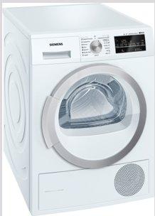 SIEMENS_Susicka bielizne s tepelnym cerpadlom, 8kg, A++