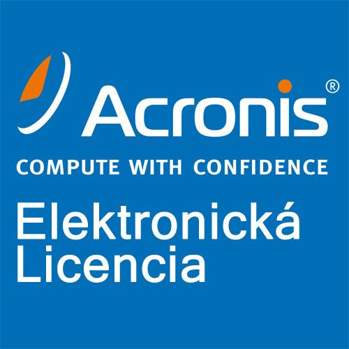 Acronis Backup Standard Virtual Host License – Maintenance AAP ESD (3 - 7)
