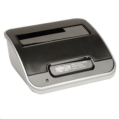 TrippLite USB 3.0 SuperSpeed to SATA External Hard Drive Docking Station for 2.5in or 3.5in HDD
