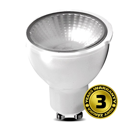 Solight LED žiarovka so stmievačom, 5W, GU10, 3000K, 38°, 400lm