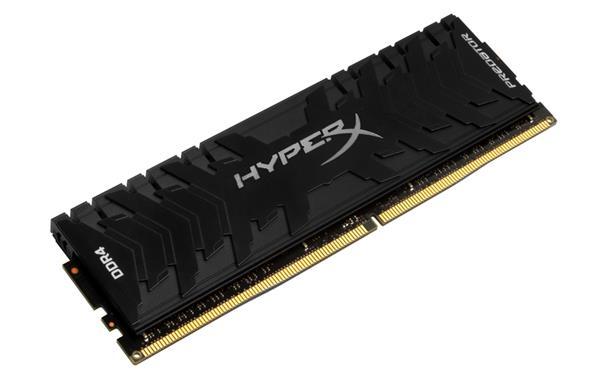 DDR 4.... 8GB . 3000MHz. CL15 HyperX Predator Black Kingston XMP