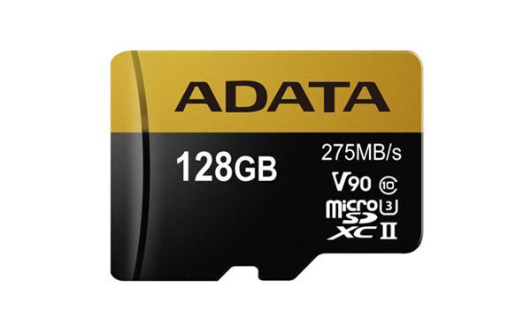128 GB . microSDHC/SDXC UHS-II U3 karta ADATA class 10 Ultra High Speed