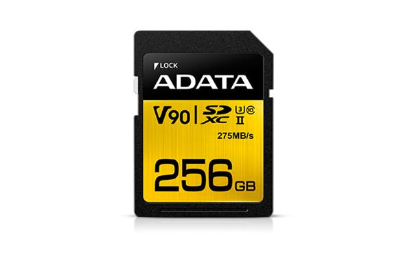 256 GB . SDXC/SDHC Premier ONE UHS-II karta ADATA class 10 Ultra High Speed