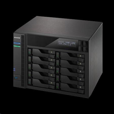 Asustor™ AS7010T-I5 10x HDD NAS HDMI QC Intel Core i5-4590S 3.0GH 8GB