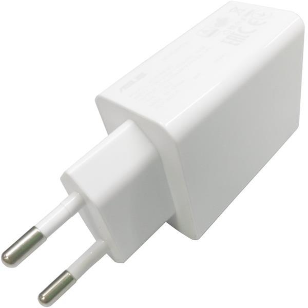 ASUS adaptér 18W 5V/9V pre telefóny biely - bulk balenie bez USB káblu