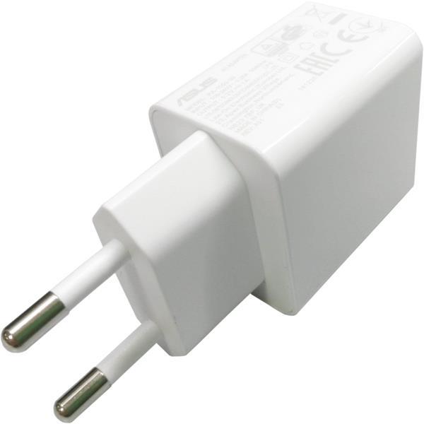 ASUS adaptér 5W 5,2/1A pre telefóny biely - bulk balenie bez USB káblu