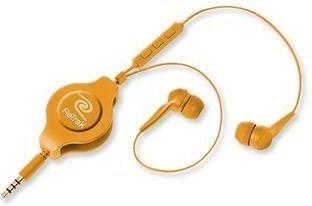 ReTrak iPhone Hands-Free Headset oranžový 1.2m + ovládanie