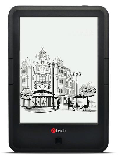 E-book Lexis EBR-61, dual core, Android 4.2, dotyková HD obrazovka s podsvietením, Wi-Fi, 8GB, čierny