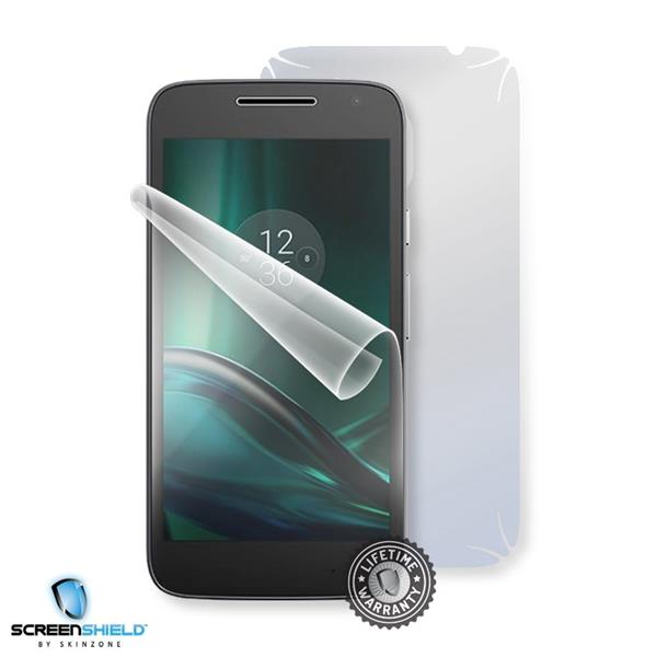 Screenshield MOTOROLA Moto G4 Play XT1602 - Film for display + body protection