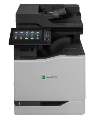 Lexmark CX825dte, color laser MFP, 4800,52/52ppm,2GB, 1.6GHz, USB, GLan, Duplex, Fax, Tray