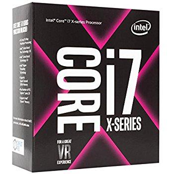Intel® Core™i7-7800X processor, 3,50GHz, 8,25MB, FCLGA2066 BOX