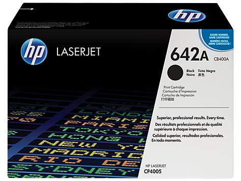HP Toner Cartridge Black for CLJ CP4005, up to 7,500 pages