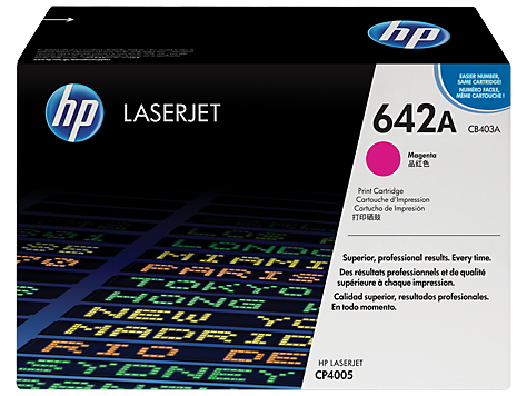 HP Toner Cartridge Magenta for CLJ CP4005, up to 7,500 pages