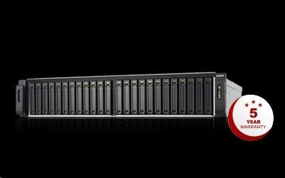 QNAP™ TES-3085U-D1548-64 24bays Intel® Xeon® Processor D-1548, 8-core 2.0 GHz 16 GB UDIMM x 4 2U