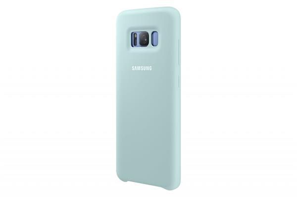 Samsung Zadný silikónový kryt pre Samsung S8+, Modrý