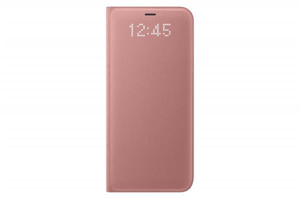 Samsung LED View puzdro pre Samsung S8+, Ružová