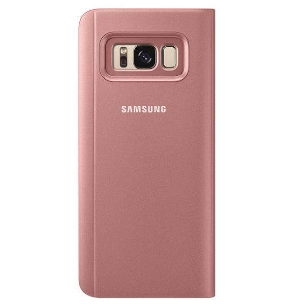 Samsung Clear View púzdro pre S8+, Ružová