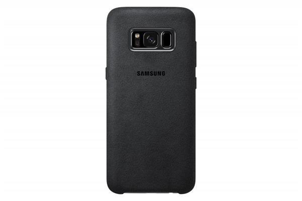Samsung Zadný kryt Alcantara pre Samsung S8+, Dark/Gray