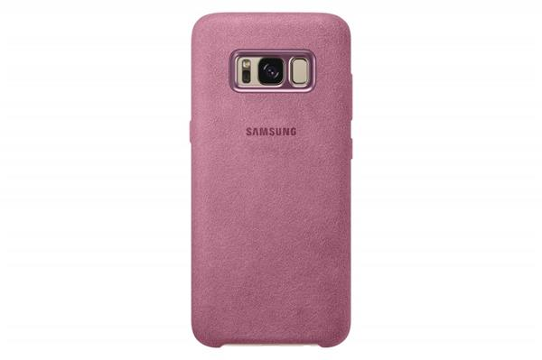 Samsung Zadný kryt Alcantara pre Samsung S8+, Ružový