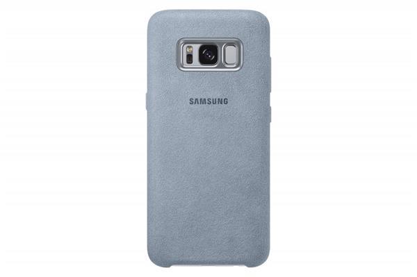 Samsung Zadný kryt Alcantara pre Samsung S8+, Mint