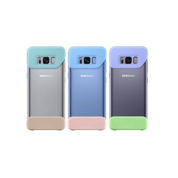 Samsung Zadný kryt 2 diely pre Samsung S8+, 3-pack, Mint / Blue / Violet