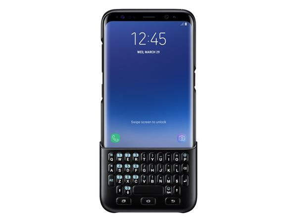 Samsung Zadný kryt s klávesnicou pre Samsung S8, Čierny