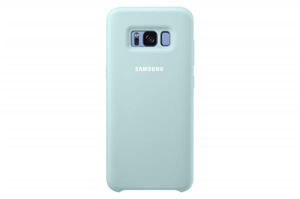 Samsung Zadný silikónový kryt pre Samsung S8, Modrý