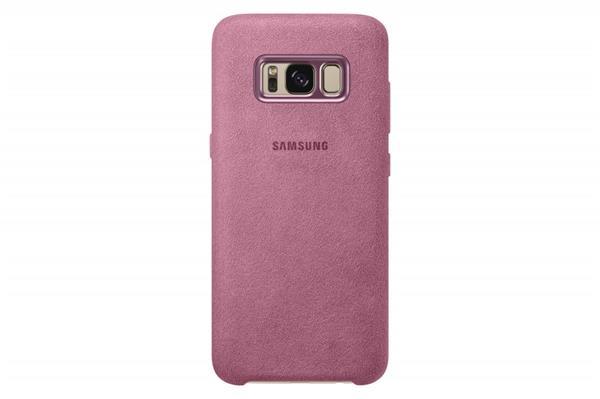 Samsung Zadný kryt Alcantara pre Samsung S8, Ružový