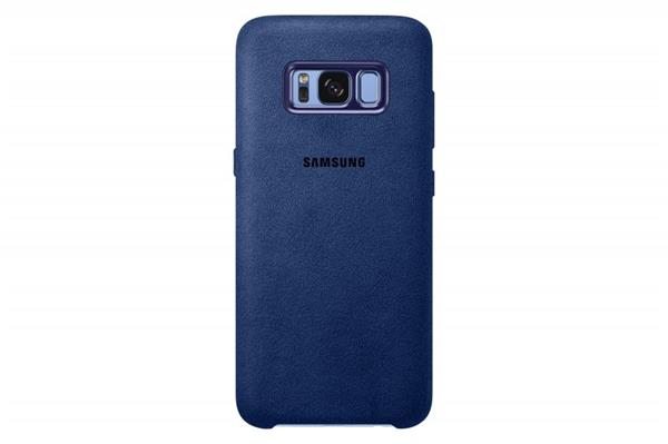 Samsung Zadný kryt Alcantara pre Samsung S8, Blue